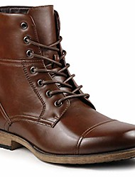 cheap -mc310 men& #39;s lace up cap toe dress casual fashion oxford boot & #40;6.5, brown& #41;