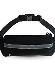 cheap -running belt elastic waist pack multifunctional zipper pockets water resistant fanny pack adjustable running hiking climbing gym for apple iphone 8 plus/7 plus/x/8/7/6s plus/6/5s(black)