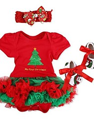 cheap -Reborn Baby Dolls Clothes Reborn Doll Accesories Fabrics for 20-22 Inch Reborn Doll Not Include Reborn Doll Christmas Santa Claus Soft Pure Handmade Girls' 3 pcs