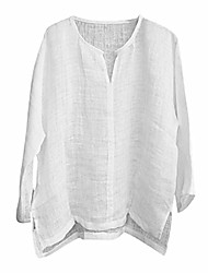 cheap -linen tops,mens brief comfy solid color long sleeve t shirt loose casual blouse