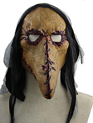 cheap -Plague Doctor Retro Vintage Punk & Gothic Steampunk 17th Century Mask Men's Women's Costume Yellow Vintage Cosplay Halloween Masquerade