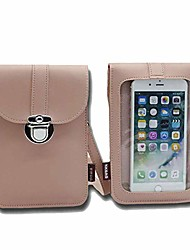 cheap -lightweight leather phone purse, small crossbody bag mini cell phone pouch phone bag with beautiful package.