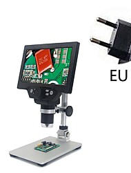 cheap -HD 7 inch 1200X digital microscope electron microscope mobile phone repair microscope