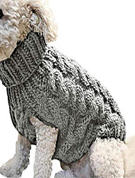 cheap -classic warm dog clothes puppy pet cat clothes sweater jacket coat winter fashion soft for small dogs chihuahua s-xl-a_m_china