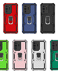 cheap -Case For Samsung Scene Map Samsung Galaxy S20 S20 Plus S20 Ultra Lightning Armor Series PC TPU 2-in-1 Four-corner Anti-fall Invisible Bracket Full Covered Mobile Phone Case