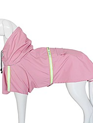 cheap -pet dogs rain jacket raincoat adjustable lightweight poncho with reflective stripe for small medium large dog breeds,puppy waterproof clothes,dog rain gear rainy days