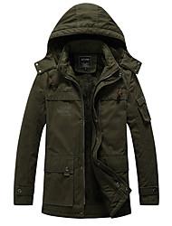 cheap -men's windproof fleece ski jacket warm winter snow coat mountain windbreaker hooded raincoat