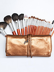cheap -Professional Makeup Brushes 24pcs Soft Full Coverage Wooden / Bamboo for Makeup Brush