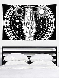 cheap -vintage occultism set ouija board bedroom tapestry exclusive wall hanging multi purpose backdrop hangings for living room, doorway and kitchen. 60x40 inch
