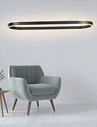 cheap -80/100/120 cm Circle Design Pendant Light Nordic Style Aluminium Alloy Painted Finishes Modern Fashion 110-120V 220-240V