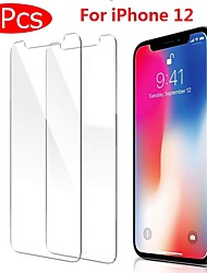 cheap -2PCS Tempered Glass For iPhone 12 11 Pro Max 12 Mini Protective Films For iPhone 12 11 X XS MAX XR SE 2020 8 7 6 Plus 5 se Full Cover Screen Protector Tempered Glass