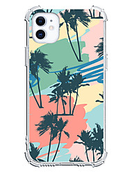 cheap -Palm Tree Case For Apple iPhone 12 iPhone 12 Mini iPhone 12 Pro Max Unique Design Shockproof Back Cover TPU