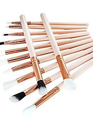cheap -makeup sets,12 pcs makeup brush set professional face eye shadow eyeliner foundation blush
