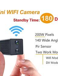 cheap -Mini Camara Wifi HD 1080P Visin Nocturna Micro Camara Deteccin Cuerpo Mini Videocmara Pir Compatible Con Tarjeta 128G