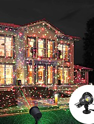 cheap -Christmas Projector Lights Outdoor Party Laser Light Projection IP55 Waterproof  Decorative Lights LED Stage Light for Outdoor  Garden Lawn Xmas Holiday Party