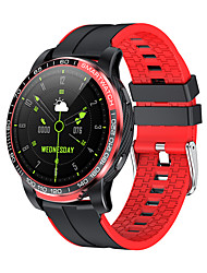 cheap -JSBP G21 Smartwatch Fitness Running Watch Bluetooth 1.28 inch Screen IP 67 Waterproof Touch Screen Heart Rate Monitor Stopwatch Pedometer Call Reminder 20mm Watch Case for Android iOS Samsung Xiaomi