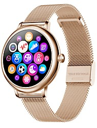 cheap -CF80 Women's Smartwatch Bluetooth Heart Rate Monitor Blood Pressure Measurement Calories Burned Media Control Health Care Stopwatch Pedometer Call Reminder Sleep Tracker Sedentary Reminder