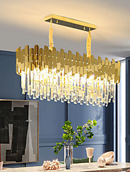 cheap -90 cm Premium Crystal Chandelier Gold Luxury Island Desgin Stainless Steel Electroplated Modern 110-120V 220-240V