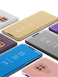 cheap -Case For Motorola Moto G8 / Moto G8 Power / Moto G8 Power Lite Shockproof / Plating / Mirror Full Body Cases Solid Colored TPU / PC