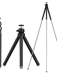 cheap -1M EXtendable Adjustable Live Broadcast Multi-function Stand camera Tripod with Holder & Phone Clamp