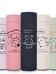 cheap -450ml Lovely 304 Stainless Steel Tumbler Insulated Water Bottle Portable Vacuum Flask for Travel Cup Colorful Coffee Mug
