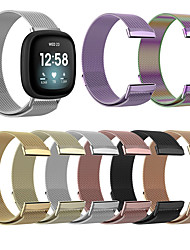 cheap -Watch Band for Fitbit Versa 3 / FitbitSense Fitbit Milanese Loop Stainless Steel Wrist Strap