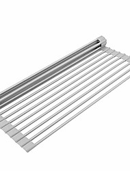 "cheap -dish drying rack over the sink multipurpose roll up dish drying rack dish rack dish drainer - large 20.5"" sink drying rack by  (20.5"" x 13"")"