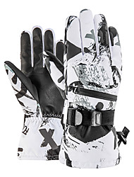 cheap -KORAMAN Women's Men's Snowsports Winter Sports Windproof Rain Waterproof Warm Ski Wear / Winter Gloves / Full Finger Gloves
