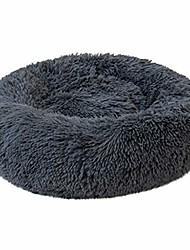 cheap -orthopedic dog bed comfortable donut cuddler plush round pet bed ultra soft washable dog and cat cushion sleeping bed