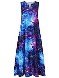 cheap -women african vintage splice dashiki sleeveless summer pockets long maxi dress casual maxi skirt