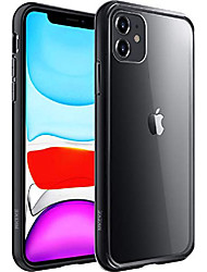 cheap -compatible with iphone 11 case, clear iphone 11 cases cover for iphone 11 6.1 inch black