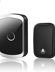 cheap -CACAZI Self-powered Waterproof Wireless Doorbell with No Battery Chime 150M Remote Smart Cordless Home Door Bell