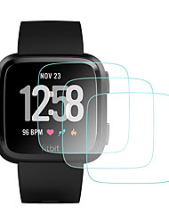 cheap -Screen Protector forFitbit Versa Tempered Glass High Definition (HD) 3 pcs