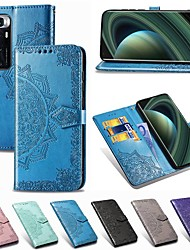 cheap -Case For Xiaomi Poco X3 NFC Mi 10 Ultra Wallet Card Holder with Stand Full Body Cases Solid Colored PU Leather Case For Redmi 9A 9C Redmi 10X Pro 5G Note 9 Pro Mi Note 10 Lite Poco F2 Pro K30 Pro Zoom