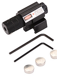 cheap -Tactical Red Dot Laser Sight Scope for Air Gun Rifle Weaver Adjustable 11/20mm Picatinny Rails Mount Rail Hanging Laser Pointer