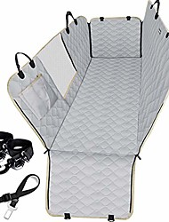 cheap -dog car seat cover for back seat truck 100% waterproof with mesh visual window durable scratchproof nonslip dog car hammock with universal size fits for cars, trucks & suvs