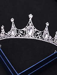 cheap -Wreaths Crown Masquerade Retro Vintage Gothic Alloy For Black Swan Cosplay Halloween Carnival Women's Costume Jewelry Fashion Jewelry