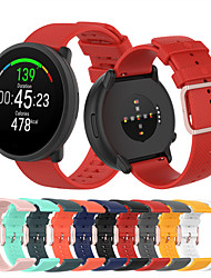 cheap -Sport Silicone Watch Band for Polar Vantage M / Grit X / Unite / Ignite Replaceable Bracelet Wrist Strap Wristband