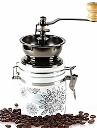 cheap -handmade coffee coffee machine - manual ceramic hand coffee bean grinder grinder - size: 85x80x170mm @@ (color : a)