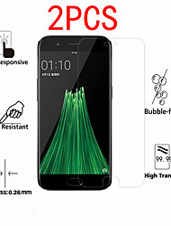 cheap -2PCS OPPO Screen Protector Oppo A92S A77 A72 A59 A57 A52 A31 A11 A9 2020 A5 2020 AK1 / ACE 2/ Oppp F15 / F11 Pro / F5 / F3 Plus High Definition (HD) Front Screen Protector Tempered Glass