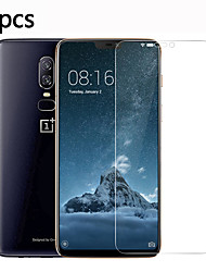 cheap -OnePlus Screen Protector OnePlus 5 OnePlus 5T OnePlus 6 OnePlus 7 OnePlus 7T High Definition HD Front Screen Protector 5 pcs Tempered Glass