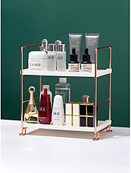 cheap -Multifunctional Double-layer Cosmetic Rack