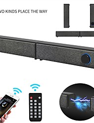 cheap -20W Separable Soundbar Bluetooth Speakers Built-in Subwoofer 4.0 Channel 3D Surround Sound with Mic for home TV PC