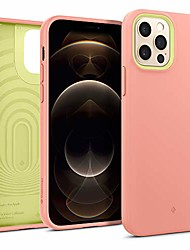 cheap -nano pop compatible with iphone 12 pro case compatible with iphone 12 case (2020) - peach pink