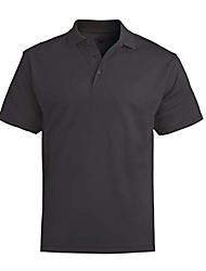 cheap -ed garments men's big and tall dry-mesh hi-performance polo shirt-cayenne-2xl