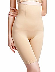cheap -women thigh slimmer high waist body shaper butt lifter firm tummy control seamless bodysuit shapewear,nude