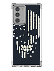 cheap -Cool Skulls Case For Samsung Galaxy S21 Galaxy S21 Plus Galaxy S21 Ultra Unique Design Protective Case Shockproof Back Cover TPU