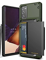 cheap -damda glide pro for galaxy note 20, with [4 cards] [semi auto] premium sturdy credit card slot wallet for samsung galaxy note 20 5g case 6.7 inch(2020)