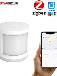 cheap -Mini Zigbee Motion PIR Sensor Detector WIFI Movement Sensor Smart Life APP Wireless Home Security System