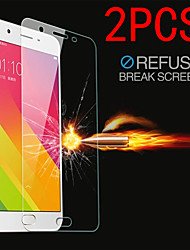 cheap -2PCS OPPO Screen Protector OPPO R11S Plus R11 Plus / R9S / R7 / R17 Pro / Realme X50 5G / Realme X2 3 Pro / RealmeXT Q 6 4 C3 / Reno Ace 4 2 High Definition (HD) Front Screen Protector Tempered Glass